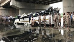 UP: 29 killed, 18 injured as bus falls from bridge