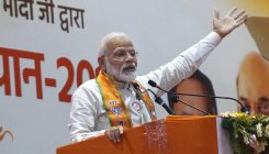PM asks BJP MPs for 'padayatra' on Gandhi's birthday