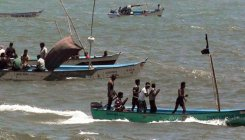 1 fisherman rescued by B'desh vessel; 24 still missing