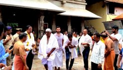 Revanna on a temple run in coastal districts