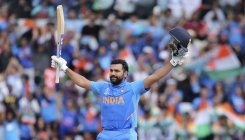 Rohit Sharma wins Golden Bat in CWC 2019