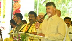 Jagan Playing destructive politics: Naidu