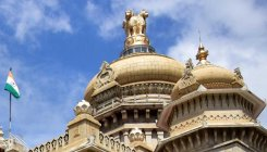 Suicide attempt at Vidhana Soudha: 10 cops suspended
