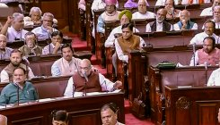 SP demands to take up land disputes in UP; RS adjourns