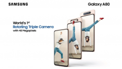 Samsung Galaxy A80 with triple-camera debuts in India