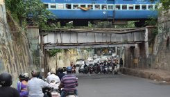 Oldest railway underpass gives commuters real creeps