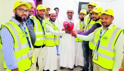 Hajj pilgrims from M'luru get warm reception in Medina