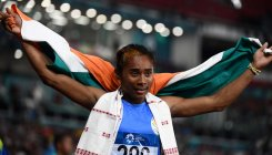 Hima wins fourth gold in 15 days