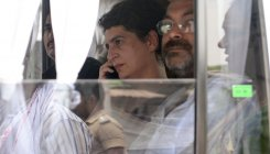 Priyanka detention: Cong workers protest in Jaipur