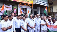 Congress stages protests in Udupi, Mangaluru