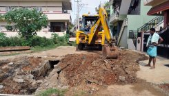 Incomplete works irk residents, motorists in C'magaluru