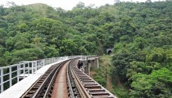 Landslide forces to cancel M'luru-B'luru train service