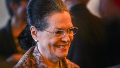 Sonia draws party line on Trump's Kashmir remarks