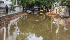 Overflowing drains reduce Shanthinagar to stinking mess