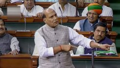 No question of mediation on Kashmir: Rajnath in LS