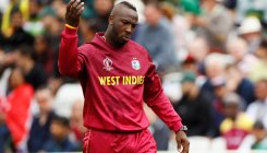 Andre Russell bends the knee for Global T20 Canada