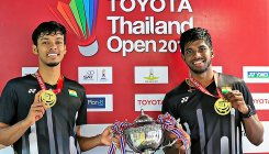 Rankireddy-Shetty first Indian pair to win BWF