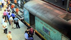 Waiter taken off duty over molestation in train