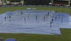 India bowl against West Indies in rain-delayed T20
