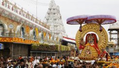 Devotee from Hyd donates Rs 1.11 cr to Tirumala shrine