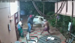 Spirited elderly couple fights off armed robbers