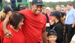 Nicklaus' major record still in play, says Woods