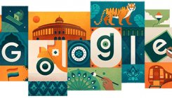 Google dedicates doodle to Independence Day