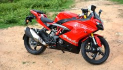 TVS Apache RR 310 – a commendable performer