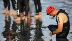 High bacteria level cancels portion of Tokyo triathlon