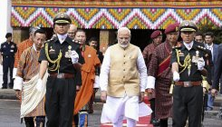 Bhutan's Leader of Opposition meets PM Modi