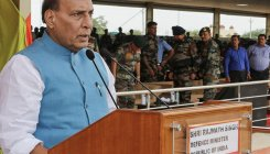 If talks happen with Pak, it will be on PoK: Rajnath