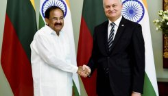Naidu meets Lithuania PM, discusses bilateral ties