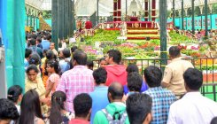 Flower show comes to a close; registers 4.50L footfall