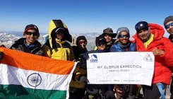 Pune mountaineers climb Europe's highest peak on I-Day