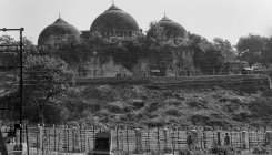 Ayodhya case: Temple razed for mosque, says advocate