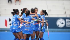 Women's hockey team enter Olympic test event final
