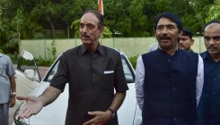 Azad stopped at Jammu Airport, sent back