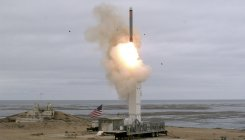 US missile test will trigger a new 'arms race': Beijing