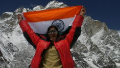 Small-town Haryana girl conquers great heights