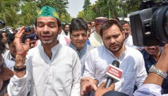 Tej Pratap says no rift with Tejashwi
