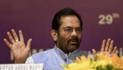 Cong trying to convert corruption to revolution: Naqvi