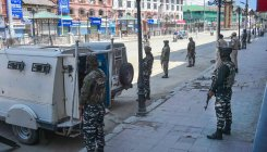 No immediate plan to withdraw troops from J&K: Min