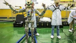 Russia sends its first humanoid robot 'Fedor' to space