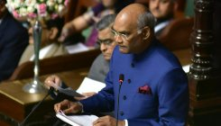 Gandhi's values are very relevant for us: Kovind