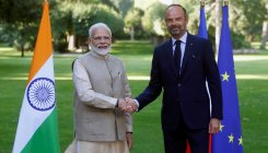 PM Modi holds talks with French counterpart Philippe