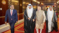 Modi discusses India-UAE strong ties with Nahyan