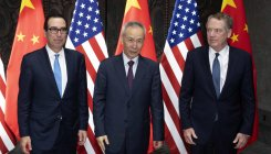 China says it wants 'calm' resolution to US trade war