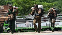 Myanmar army and rebel clashes, thousands homeless