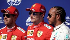 Leclerc leads Ferrari front row lockout on tragic day