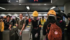 Hong Kong protesters target airport; Flights cancelled